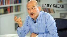 Daily Sabah'ta Süleyman Soylu için şok yorum