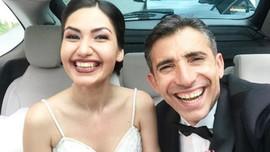 Oyuncu Mert Turak ile Birgül Kurtçu evlendi