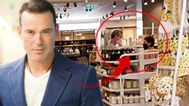 Murat Başoğlu yeni sevgilisiyle ev alışverişinde