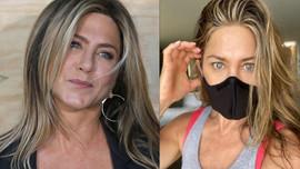 Jennifer Aniston'dan maske tepkisi