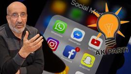 Dilipak'tan AK Parti'ye sosyal medya çıkışı!