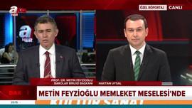 Metin Feyzioğlu A Haber'de çoklu baroyu savundu