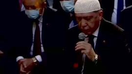 Erdoğan Ayasofya Camii'nde Kur'an-ı Kerim okudu