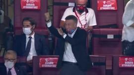 Ahmet Ağaoğlu'nun gol sevinci olay oldu!