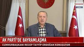 Erdoğan canlı yayında promptera takıldı