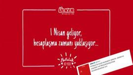 Ülker'in 1 Nisan reklamı istifa getirdi!