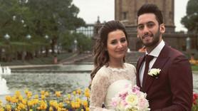 Hakan Çalhanoğlu hamile eşiyle barıştı!