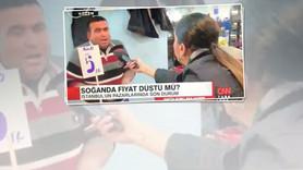 CNN Türk muhabirine şok 'depoda soğan' cevabı!