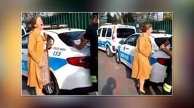 'Polise çığlık atan'  akademisyene sahip çıktı!