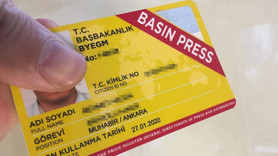 Kaç gazetecinin basın kartı iptal edildi?