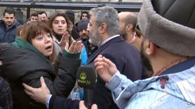 Kadınlar Ahsen TV muhabirine böyle tepki gösterdi!