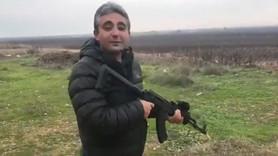 A Haber müdüründen Suriye sınırında atış talimi!