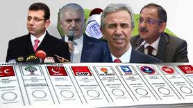 7 büyükşehirin 5'ini AK Parti alıyor!