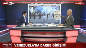 """Akit TV sunucusundan ilginç yorum: """"Maduro'yu gönd"""