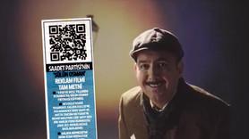 Sülün Osman reklamı için Milli Gazete'den QR kod!