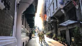 Beyoğlu'nda yangın! 4 kişi hayatını kaybetti