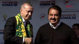 Erdoğan'ın Şanlıurfa mitinginde Tatlıses sürprizi!