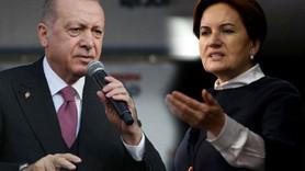 Erdoğan'dan Akşener'e hapis göndermesi!