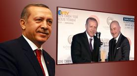 Ferit Şahenk'ten Erdoğan'ı gülümseten hediye!