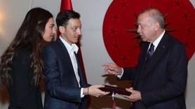 Mesut Özil'den Cumhurbaşkanı Erdoğan'a davet!