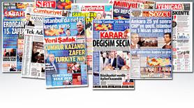 Hangi gazete seçimleri nasıl gördü?