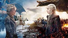 Game of Thrones posterinde ölen karakterler var