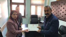 Fatih Mehmet Maçoğlu sonunda mazbatasını aldı