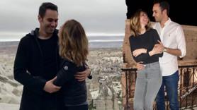 Ünlü çiftin Kapadokya romantizmi!