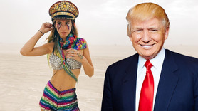 Şeyma, sosyal medyadan Trump'a seslendi!