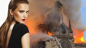 Demet Akalın'dan Notre Dame yangını tepkisi!