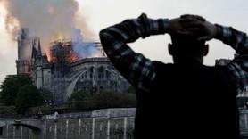 850 yıllık Notre-Dame Katedrali'nde yangın!