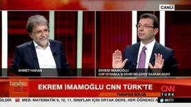 İmamoğlu ile Ahmet Hakan arasında tartışma!