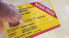 Basın kartı sorunu Meclis'in gündeminde!