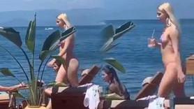 Aleyna Tilki bikinili görüntüsüyle olay oldu!