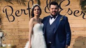 Eser Yenenler evlendi! İşte düğünden ilk kareler..