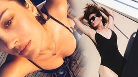 İrem Sak'ın bikinili fotoğrafına beğeni yağdı!