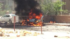 Reyhanlı'da araçta patlama: Ölü ve yaralılar var