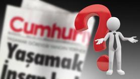 Cumhuriyet Gazetesi'nde tenkisat depremi!