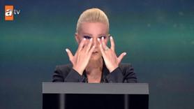 Müge Anlı yarışmada gözyaşlarını tutamadı!