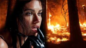 Adriana Lima'dan orman yangınları için çağrı