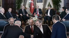 Oturma yerlerini kağıda Erdoğan çizmiş!