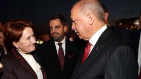 Erdoğan ile Akşener ne konuştu?