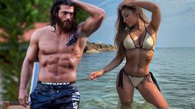 Can Yaman İtalyan modelle kaçamak yapmış!