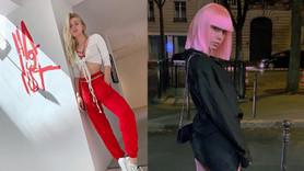 Aleyna Tilki'nin mini elbiseli Paris paylaşımı