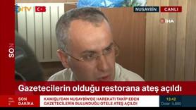 Teröristler gazetecileri hedef aldı!