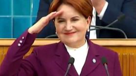 Meral Akşener grup toplantısında asker selamı
