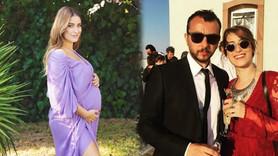 Hazal Kaya'nın hamilelik pozu olay oldu!
