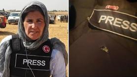 TRT muhabiri teröristlerin hedefi oldu!