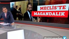 NTV sustu, Fatih Portakal tepki gösterdi