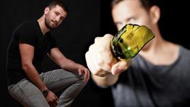 Adem Kılıççı, polisin kafasında cam şişe kırdı